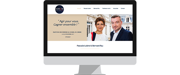 creation site internet avocat