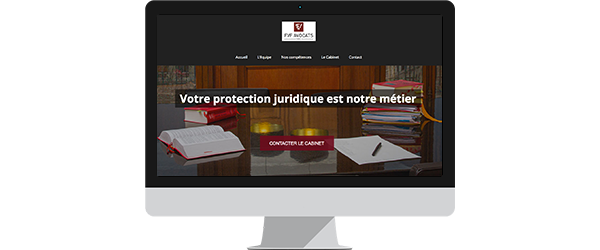 creation site internet cabinet d'avocats Cergy 95