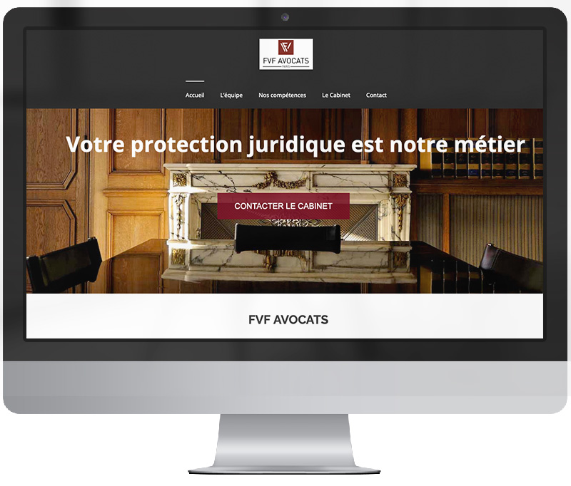 creation site web avocats